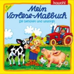 Mein Vorlese-Malbuch