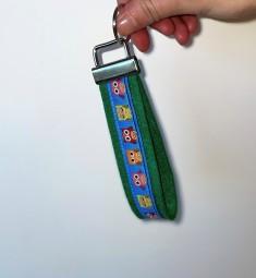 Schlüsselanhänger grün\blau