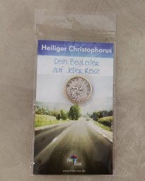 Automedaille Heiliger Christophorus