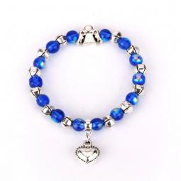Sei behütet und beschützt, Armband blau